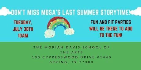 Storytime at MDSA! tickets