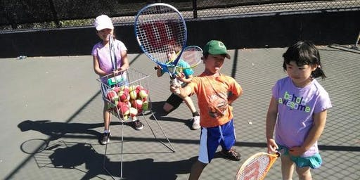Kids Tennis Classes in Fremont (Ages 2.5 - 4)
