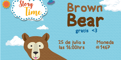 Story Time: Brown Bear entradas