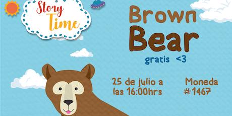 Story Time: Brown Bear boletos