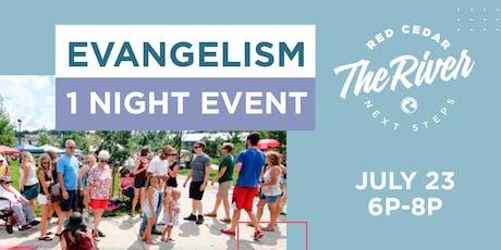 Evangelism 1 Night tickets