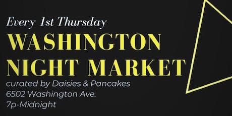 Washington Night Market tickets