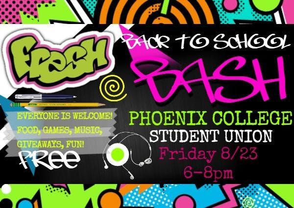 Phoenix College Back-2-School Bash!