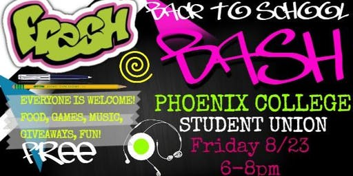 Phoenix College Back-2-School Bash!
