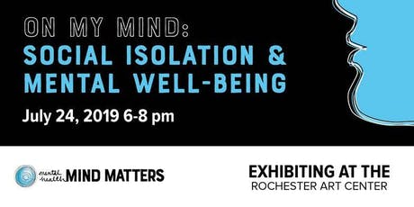 On My Mind: Social isolation and mental well-being tickets