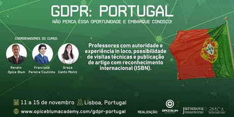 GDPR: PORTUGAL  bilhetes