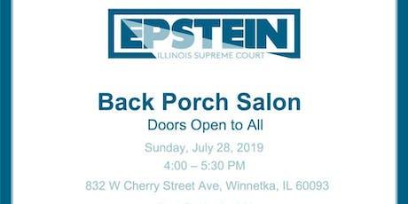 Back Porch Salon With Jeanne Bishop tickets