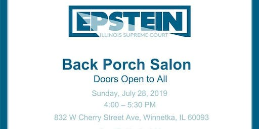 Back Porch Salon With Jeanne Bishop