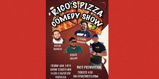 Comedy Night @ Rico's Pizza