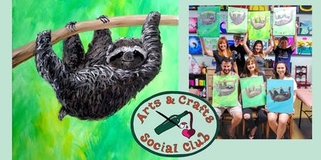 "BYOB Painting Class - ""Sloth"" tickets"