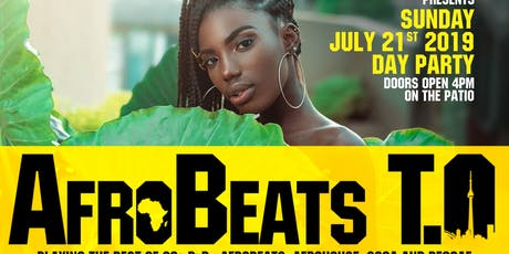 AfrobeatsTO Day Party  tickets