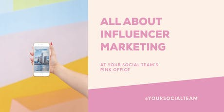 All About Influencer Marketing tickets