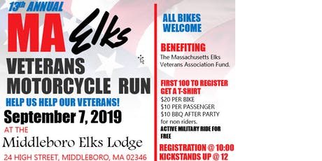 Mass Elks Veterans Motorcycle Run - Middleboro tickets