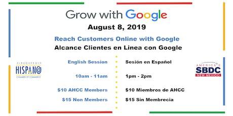 Grow With Google Sesion en Espanol tickets