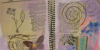 Evening Art Journaling in August