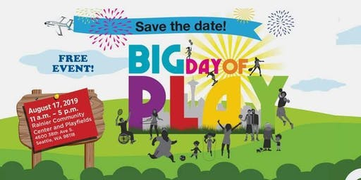 Seattle Parks - Big Day of Play 2019 - 3 on 3 Basketball