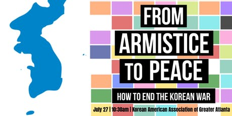 From Armistice to Peace: How to End the Korean War tickets