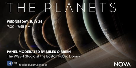 "NOVA ""The Planets"" Live at Boston Public Library tickets"
