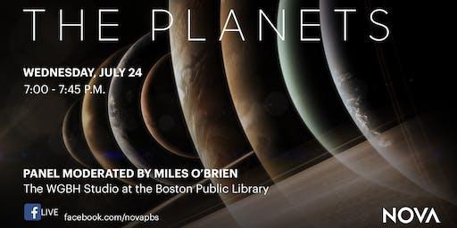 "NOVA ""The Planets"" Live at Boston Public Library"