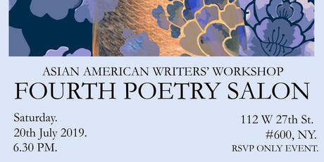 AAWW FOURTH POETRY SALON - INVITE ONLY EVENT tickets