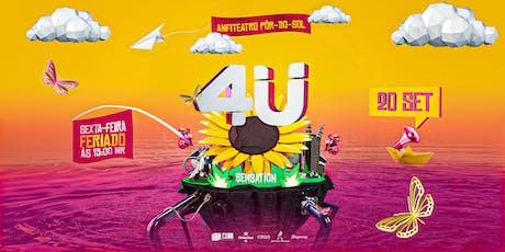 4Ü Sunset Festival | Sensation ingressos