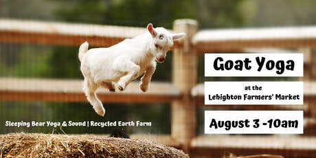 Goat Yoga at the Farmers' Market tickets