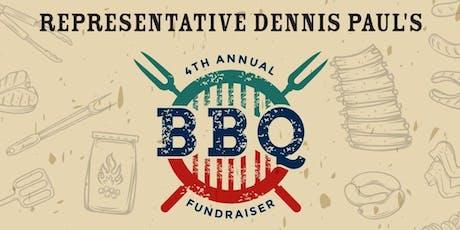 State Representative Dennis Paul's 4th Annual BBQ Fundraiser tickets
