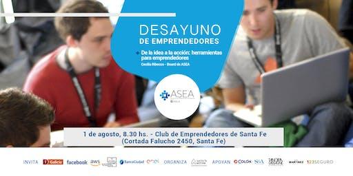 Desayuno de Emprendedores Santa Fe | AGOSTO