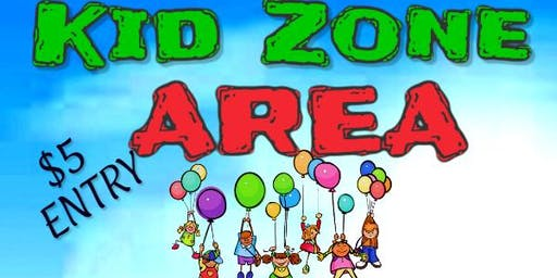 Kid Zone Entertainment during Family Vendor Expo