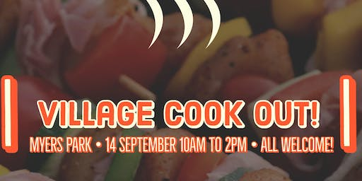Save Our Babies presents First Annual Village Cookout