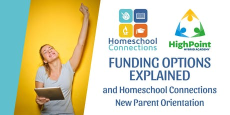 Funding Information and Homeschool Connections' Orientation (July 22) tickets