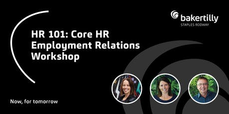HR 101 - Core HR Employment Relations - Taranaki tickets
