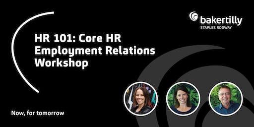 HR 101 - Core HR Employment Relations - Taranaki