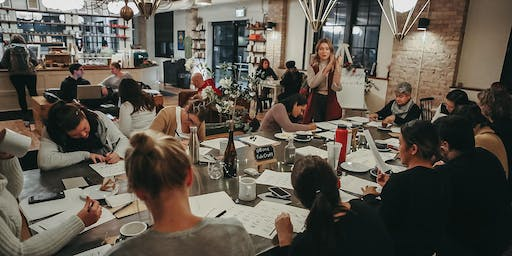 MODERN CALLIGRAPHY WORKSHOP | Hosted by @BonaFideCraft