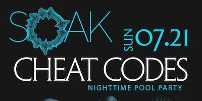 Cheat Codes @ KAOS Nightclub - SOAK Nighttime Pool Party