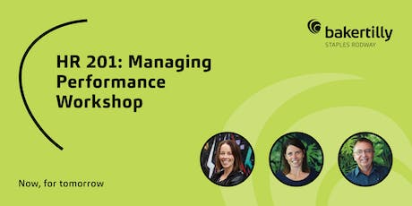 HR 201: Managing Performance Workshop - Taranaki tickets