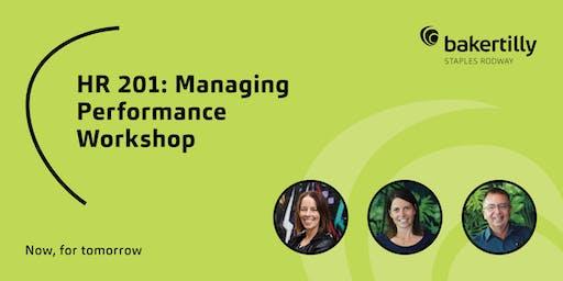 HR 201: Managing Performance Workshop - Taranaki