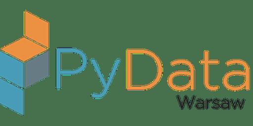 PyData Warsaw 2019