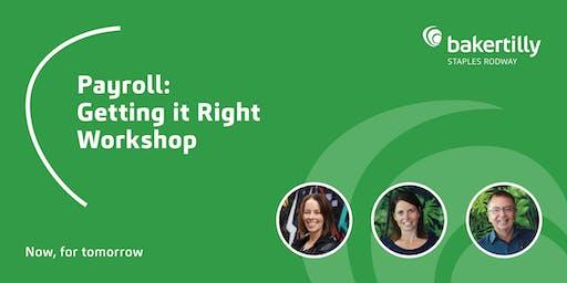 Payroll: Getting it Right Workshop - Taranaki