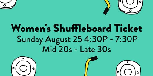 Shuffleboard Speed Dating LADIES TICKET SOLD OUT
