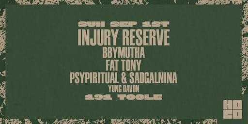 Injury Reserve at 191 Toole