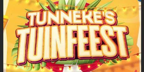 Tunneke's Tuinfeest Zaterdagavond tickets