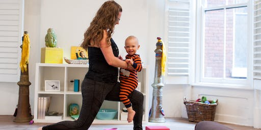 Baby and Me Yoga with Erin Clark