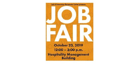 Mission College Job Fair-October 23, 2019  tickets