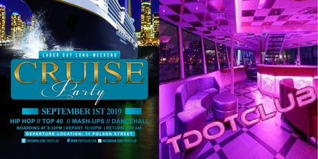 Labour Day weekend Booze Cruise tickets