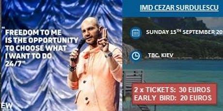 Super Sunday with IMD  CEZAR SURDULESCU tickets