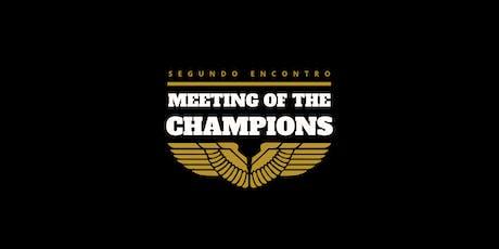 Meeting of the Champions 2020 ingressos