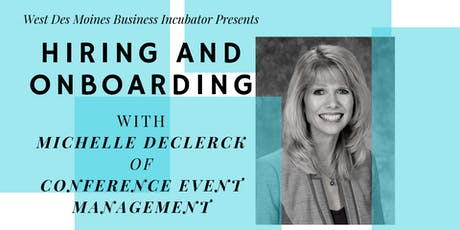Expert Advice // Hiring & Onboarding with Michelle DeClerck tickets