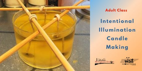 Adult Class:  Intentional Illumination Candle Making tickets
