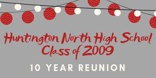 Huntington North High School Class of 2009-10 Year Reunion